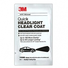 3M Quick Headlight Clear Coat Wipes