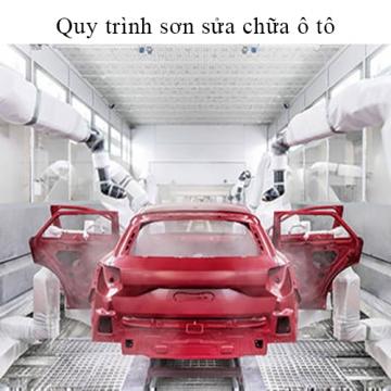 Quy trình sơn sửa chữa ô tô - Các bước cần thực hiện