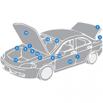 Một số điều cần biết về code màu các dòng xe ô tô