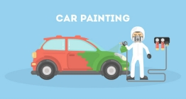 Waterbourne car painting- the painting process and things to keep in mind