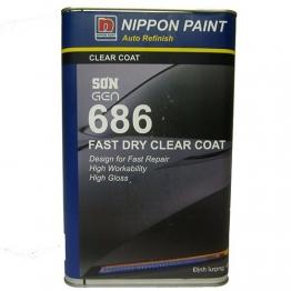 Gen 686 Dry Clear Coat