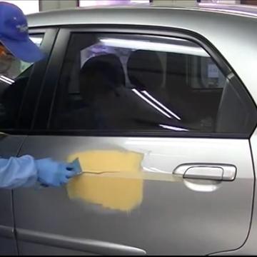 Quy trình bả matit trong sơn sửa chữa ô tô