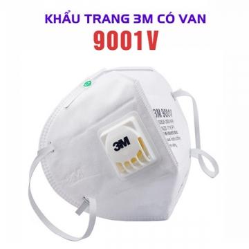 3M 9001v Face Mask KN90
